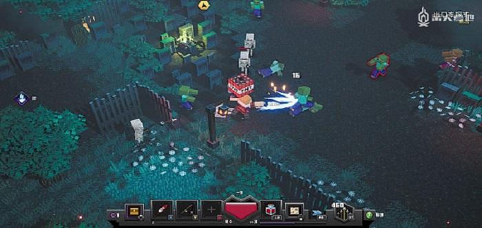 地下城冒险游戏