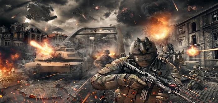 军事题材的游戏