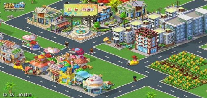 模拟城市建设的游戏
