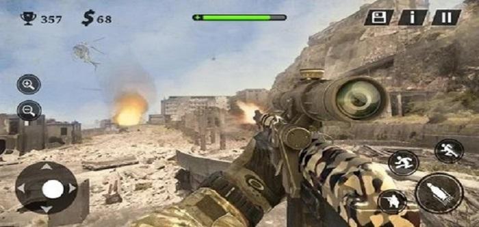 3D枪战射击游戏