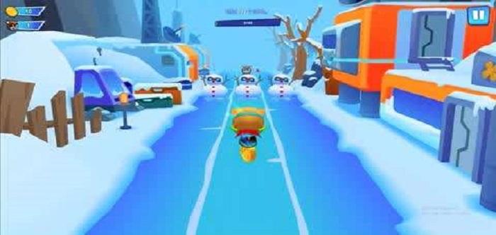 障碍跑酷游戏