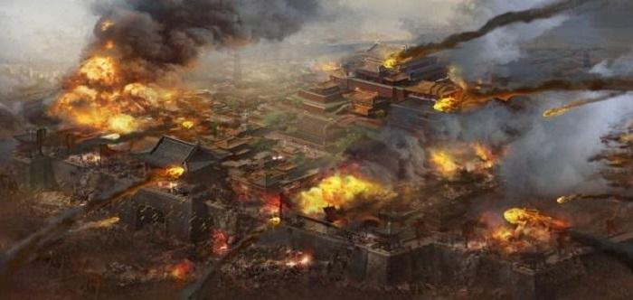 带兵打仗攻城的游戏