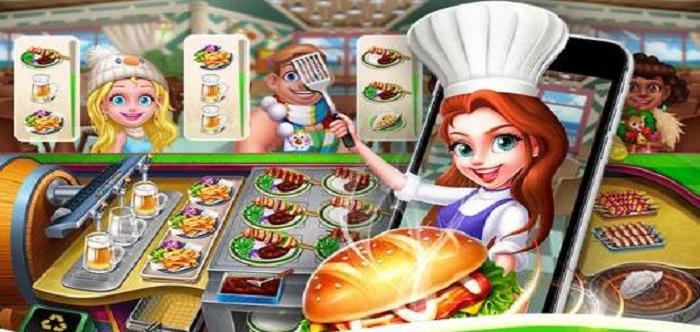 模拟制作美食的游戏
